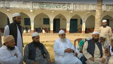 Photo of مولانا خالد صاحب مہتمم مدرسہ محمود المدارس مسوری کا جہاز قطعہ میں پرتپاک استقبال