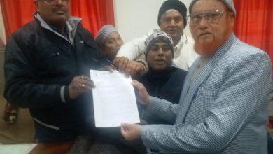 Photo of سیاسی وسماجی تنظیموں نے صدر جمہوریہ ہند کو بھیجا میمورنڈم