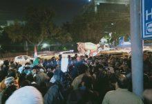 Photo of دہلی پولیس ہیڈ کوارٹر کے سامنے طلبہ کا مظاہرہ جاری