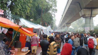 Photo of بارش اورکڑی سردی کے باوجود ڈٹے رہے جامعہ تحریک کار
