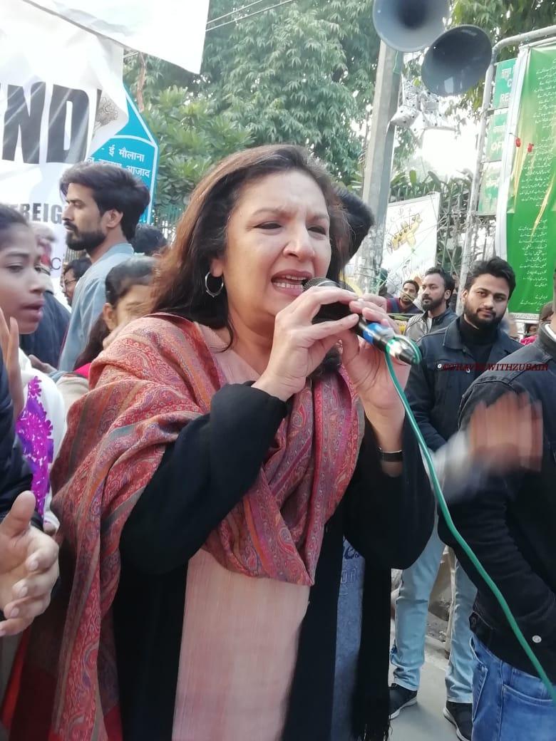 Photo of جامعہ تحریک کا 37واں دن:
