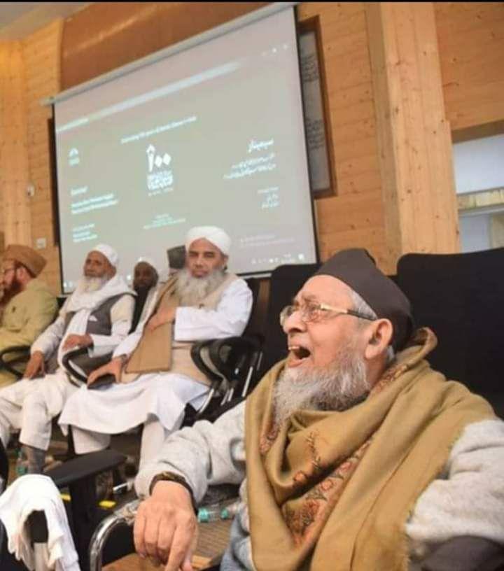 Photo of حضرت مولانا برہان الدین سنبھلی کی وفات پر جمعیۃ علماء ہند کا اظہار رنج وغم