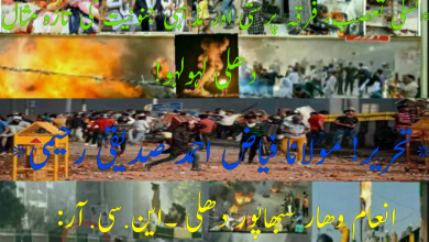 Photo of سلی تعصب، فرقہ پرستی اور مذہبی جنونیت کی تازہ مثال دہلی لہو لہو!
