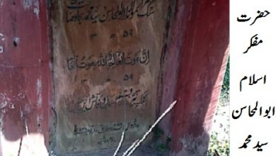 Photo of مفکر اسلام حضرت مولانا سید محمد سجاد :عربی مرثیہ