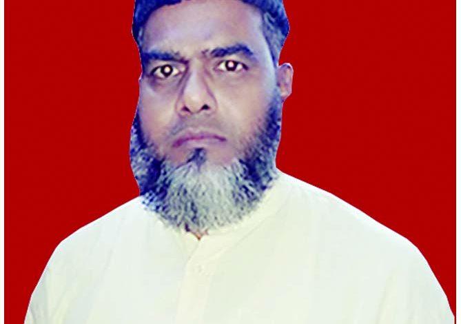 جاوید اختر بھارتی (سابق سکریٹری یوپی بنکر یونین