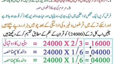 Photo of کیا قرآن میں ترکہ تقسیم غلط ہے
