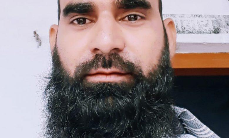 محمد ہاشم اعظمی مصباحی نوادہ مبارکپور اعظم گڈھ یو پی