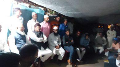 Photo of جمیعت علماء جھارکھنڈ کا وفد مبارک خان کی دردناک موت پر مہیش پور پہونچا